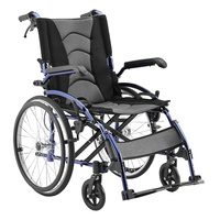 Aspire Metro Folding Wheelchair - Self Propelled