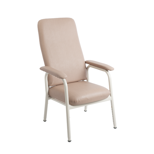 Aspire High Back Classic Day Chair - Champagne Vinyl
