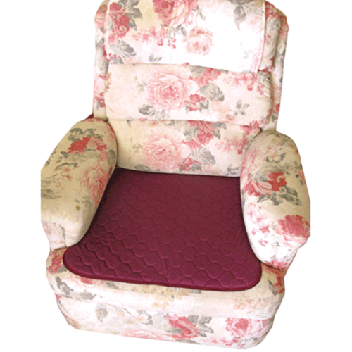 Chair Pad - Smart Barrier - Burgundy